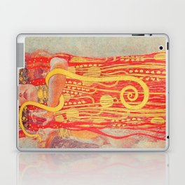 Gustav Klimt - Greek Goddess of Medicine Hygeia Laptop & iPad Skin