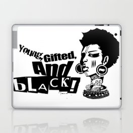 Young Gifted And Black Laptop & iPad Skin