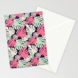 Monstera deliciosa Stationery Cards
