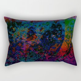 Extruding Color Rectangular Pillow