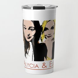 Alycia & Eliza Comic Travel Mug