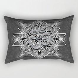 OM Geometry Black White Tribal Rectangular Pillow