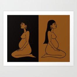 Ixchel Art Print