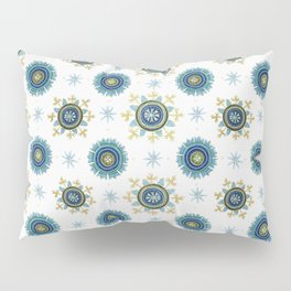 Byzantine white Empire Pillow Sham