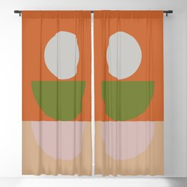 Geometric Shapes #fallwinter #colortrend #decor Blackout Curtain