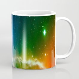 Rainbow Galaxy Coffee Mug
