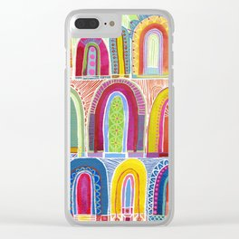 Arches Study #2 Clear iPhone Case