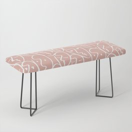 faces / pink Bench