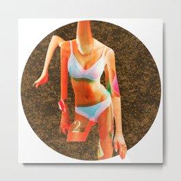 Build a Woman - Cut and Glue · The faceless disaster · Crop Circle · 4c Night Metal Print