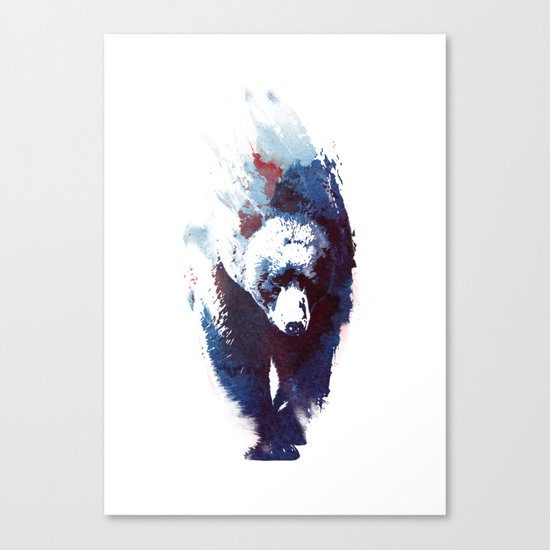 Death run Canvas Print