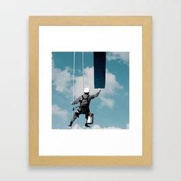 Day Cleaner Framed Art Print
