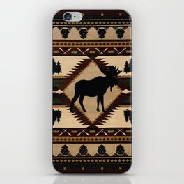 American Native Pattern No. 197 iPhone Skin