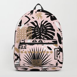 Boho Gecko Pattern Backpack
