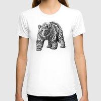 bioworkz T-shirts featuring Ornate Bear by BIOWORKZ
