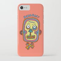 human iPhone & iPod Cases featuring Human  by PINT GRAPHICS