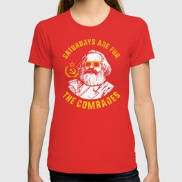 Saturdays Are For The Comrades T-shirt