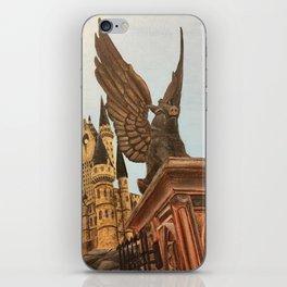Hogwarts entrance boar iPhone Skin