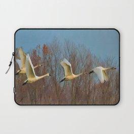 Snow Geese in Flight Laptop Sleeve