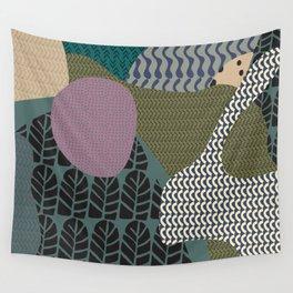 Rare rabbit Wall Tapestry