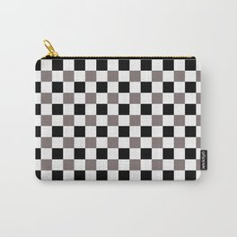 Trippy Checkerboard Carry-All Pouch