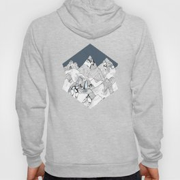 At night in the mountains Hoody