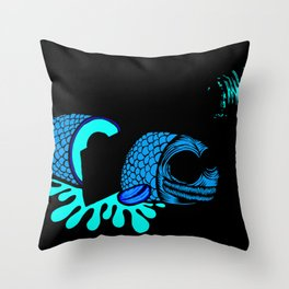 Love_suchi_fresh_fish Throw Pillow