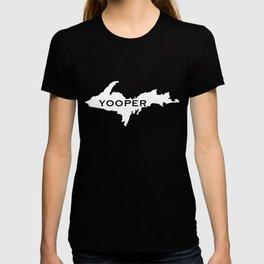 UP Yooper print for Yoopers from MI Michigan T-shirt