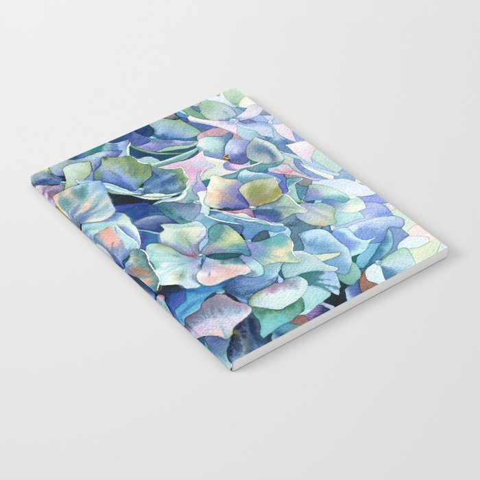 """Marine hydrangea"" Notebook"