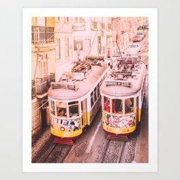 Lisbon Tram 28 Fine Art Print Art Print
