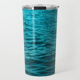 water surface, ocean wave photo - landscape photography Travel Mug