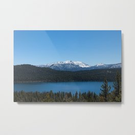 Carson Range Photography Print Metal Print