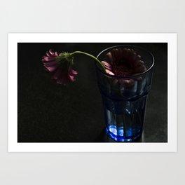 Blooming Gerbera Flower Art Print