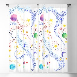 Cosmos Blackout Curtain