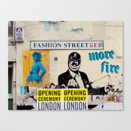 Fashion Street Canvas Print