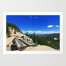 Old Bridge Art Print