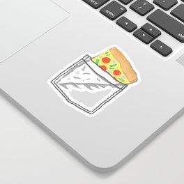 Emergency supply - pocket pizza Sticker