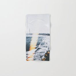 SEASCAPE BURN Hand & Bath Towel