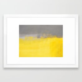 A Simple Abstract Framed Art Print