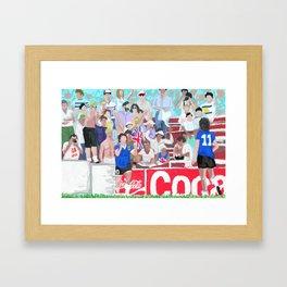 Maradona 86' Framed Art Print