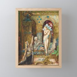 The Fable by Gustave Moreau Framed Mini Art Print
