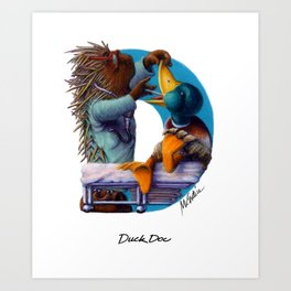 Duck Doc Art Print