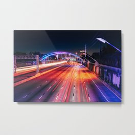 Southern Lights Metal Print