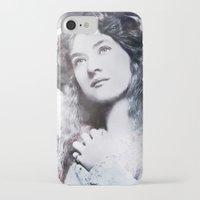 iron maiden iPhone & iPod Cases featuring Maiden by ArtChickStudio
