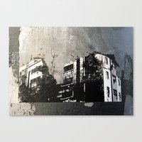 sticker Canvas Prints featuring Sticker City by Shy Photog