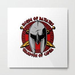 House of Batiatus Metal Print