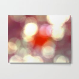 light effects soft Metal Print