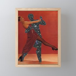 Dancing like I'm Fred Astaire Framed Mini Art Print