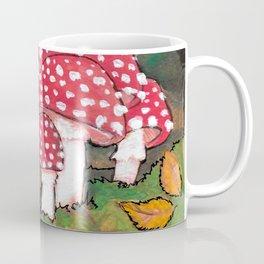 Mushrooms in the Woods Coffee Mug