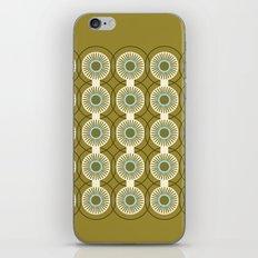 Vintage: Olive Circles iPhone & iPod Skin