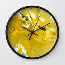 Ginko Tree Wall Clock